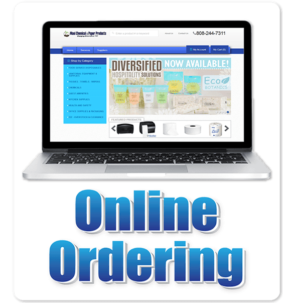 Online Ordering Button
